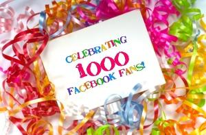 1000 facebook fans pic